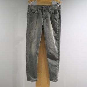 Joes Japanese Selvedge Boyfriend Ankle 26 Gray